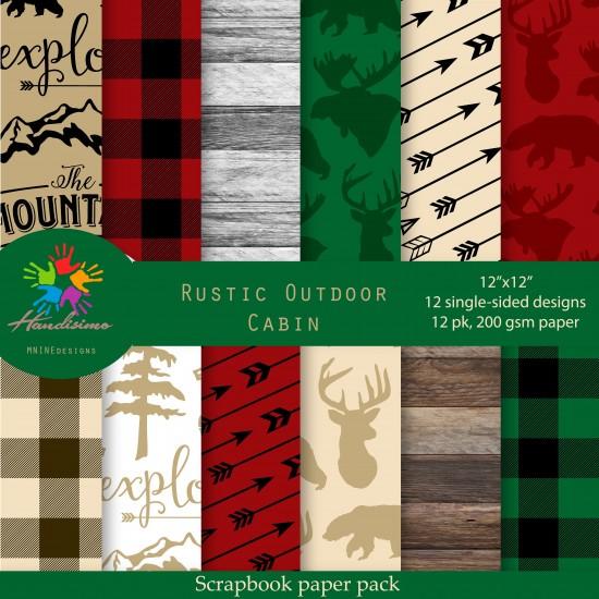 Design paper - Rustic Outdoor Cabin