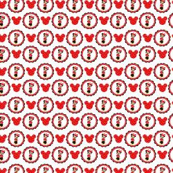 Дизайнерски картони - Мини Маус - 8х8 инча