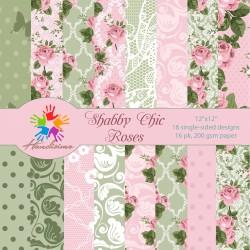 Дизайнерски картони Шаби Шик стил - Рози