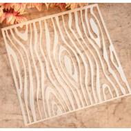 Stencil wood