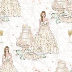 Дизайнерски картони на лист - Сватба 2011