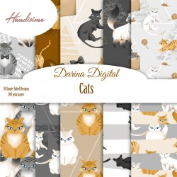 Design paper pack - Cats