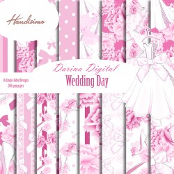 Design paper pack -  Wedding Day