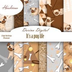 Дизайнерски картони - Dogs- 8х8 инча