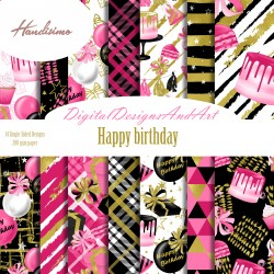 Design paper - Happy Birthday