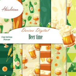 Design paper pack - Beer