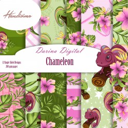 Design paper pack - Chameleon