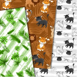 Дизайнерски картони - Wild Cats