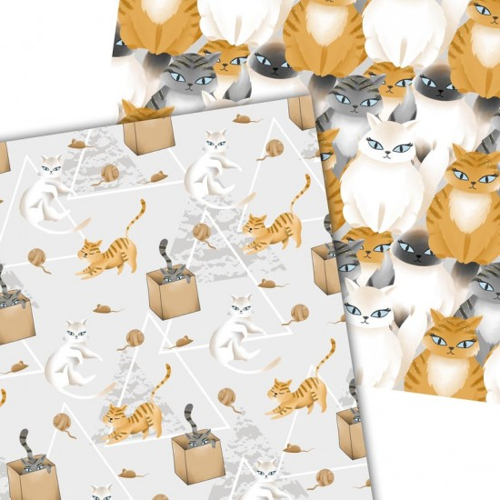 Дизайнерски картони - Cats