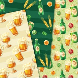 Дизайнерски картони - Beer- 8х8 инча