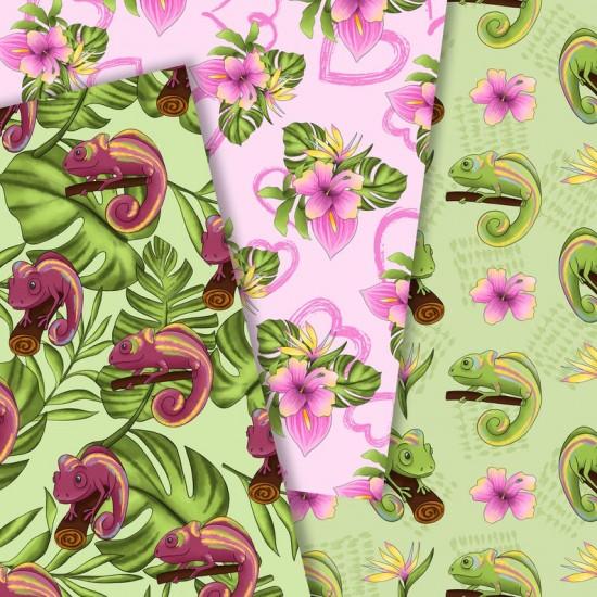 Дизайнерски картони - Chameleon