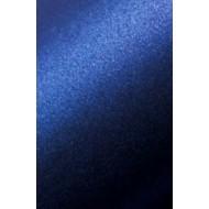 Dark blue pearl cardboard - 13.5 x 13.5 cm